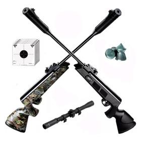 Rifle Aire Comprimido Fox Nitro Compact Piston Mira Caza