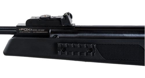 rifle aire comprimido fox nitro piston compact + mira baline
