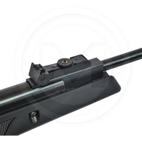 rifle aire comprimido nitro pistón  + mira + funda + y mas