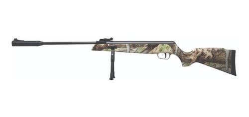 rifle aire comprimido piston 5,5 elite con bipode camuflado