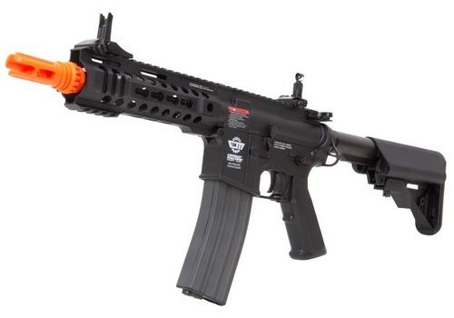 rifle airsoft elétrico cm16 300bot m4a1 aeg - g&g c/ mosfet