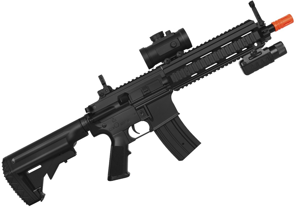 Rifle Airsoft Elétrico Double Eagle M804a1 M416 - R$ 1.219,90 em Mercado Livre