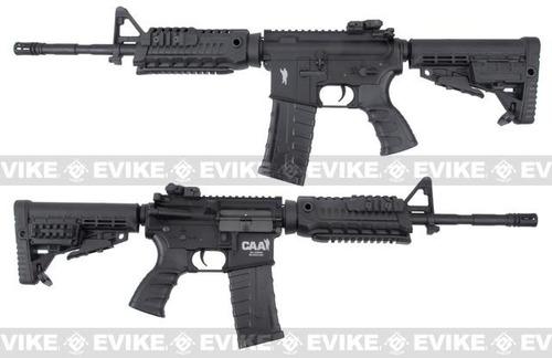 rifle airsoft elétrico k.a m4a1 caa custom 6mm m4