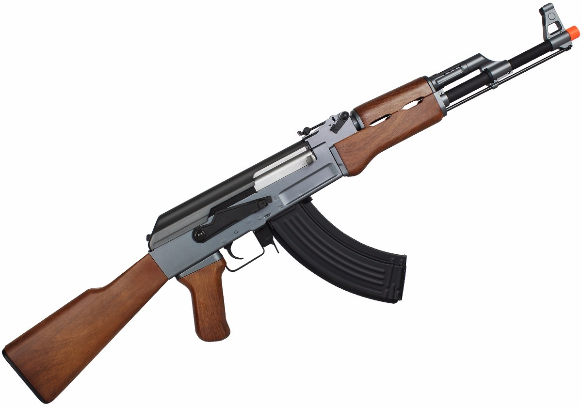 rifle airsoft el trico kalashnikov ak 47 mag e carregador r em mercado livre. Black Bedroom Furniture Sets. Home Design Ideas