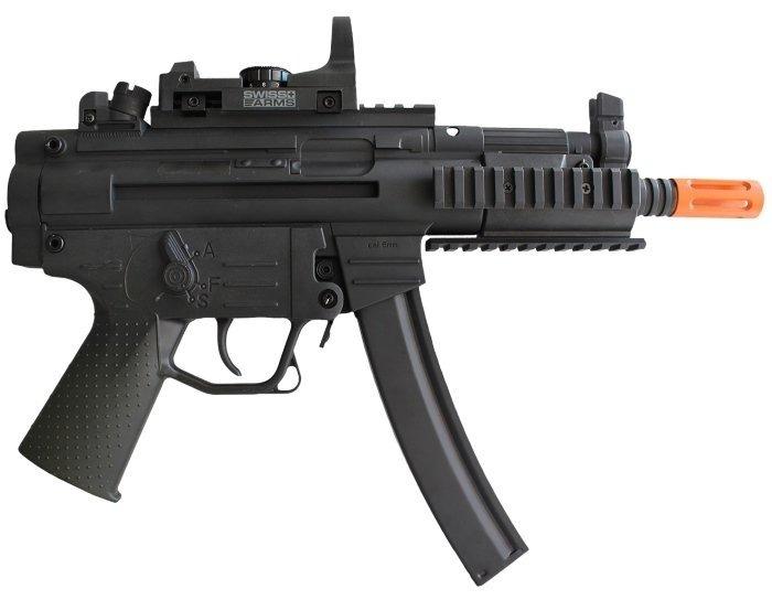 Rifle Airsoft Gsg 522 Pk Tactical (elétrico) + Red Dot Swiss - R ... d0b58a7bc9fce