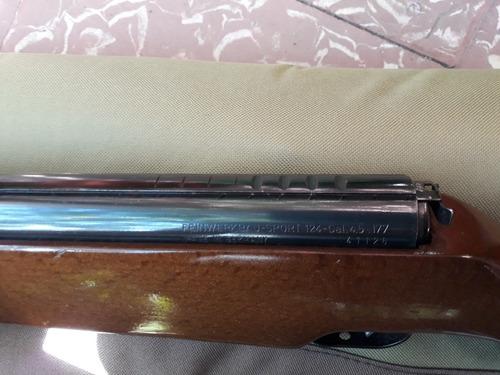 rifle aleman feinwerkbaun 124 sport. cal.4.5mm
