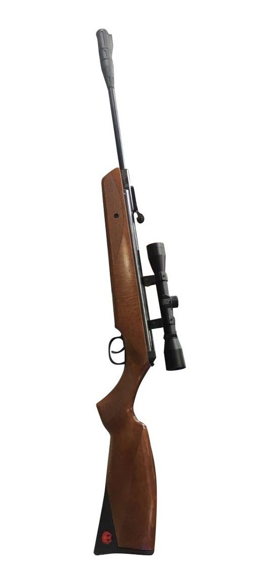 Rifle Calibre 22 Rugar Impact 1000 Fps 5 5 Balines Mira Caza