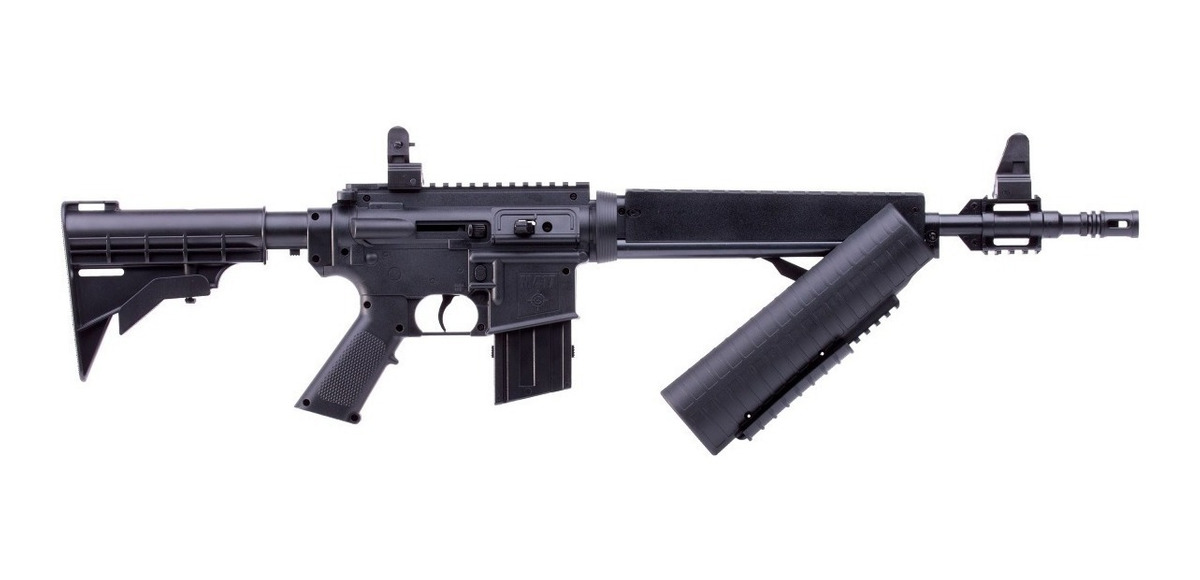 Rifle Carabina Aire Diabolos Y Bb M4 R15 Ar15 Replica Crosma