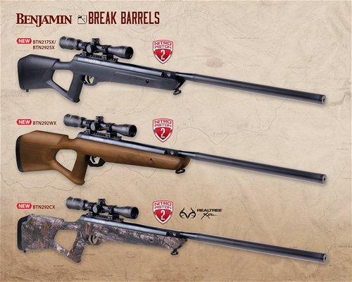 Rifle Crosman Benjamin Trail Np2 Synthetic Nitro Piston 2