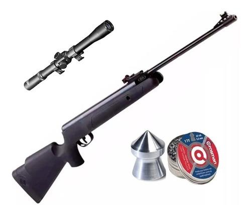 rifle crosman fury nitro 5,5 950fps + mira + balines crosman