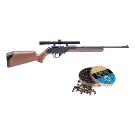 Rifle Crosman Pumpmaster De Bombazos 4.5mm (.177) 250 Diabolos Gratis (760b)