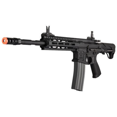 rifle elétrico airsoft burst-fire g&g raider l 2.0e 370 fps
