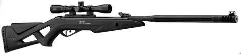 rifle gamo whisper maxxim 5,5 nitro piston+mira gamo+funda!!