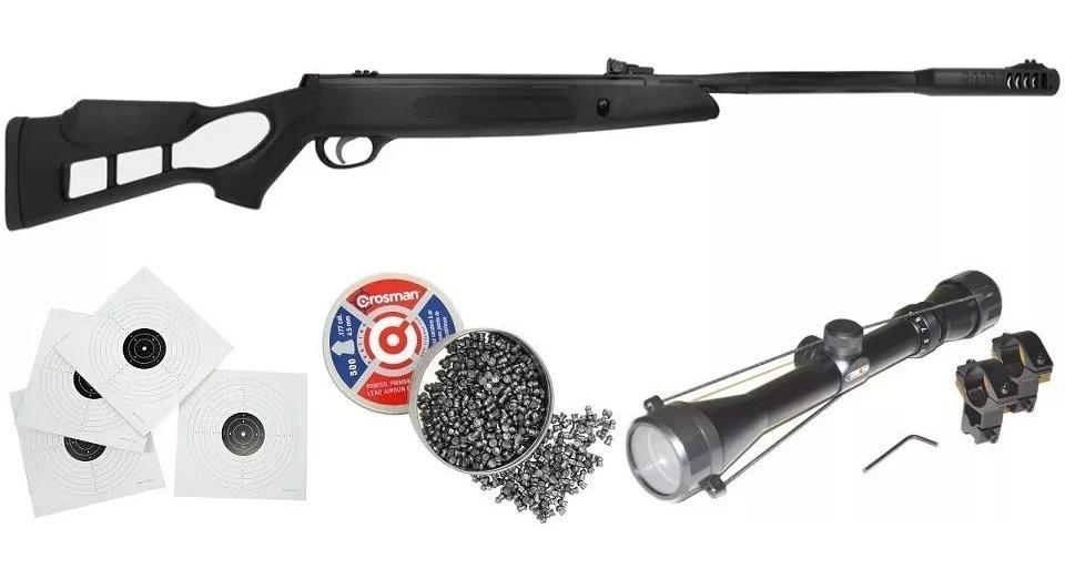Rifle, Hatsan, Airtact, Cal 4 5, 5 5,  25 + Mira 4x32