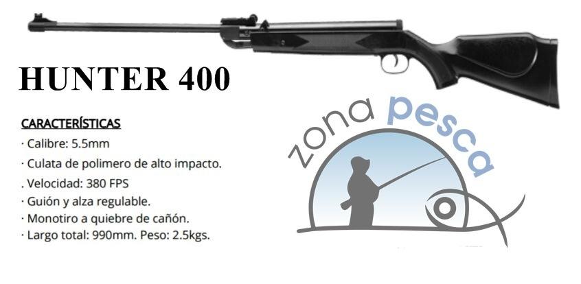 rifle hunter 400 aire comprimido cal 5 5 mm 2 628 00 en mercado