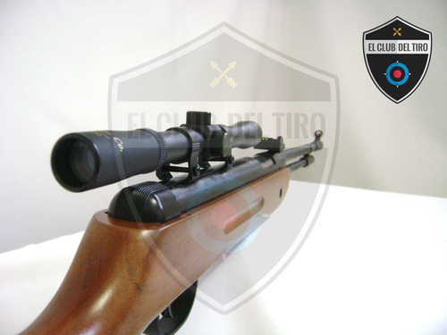 rifle legend b33 potenciado 5.5 mira 4x20 200 balines blanco