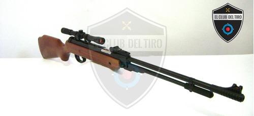 rifle legend b33 potenciado 5.5  + mira + blancos