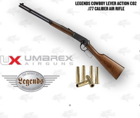Rifle Legends Co2 Cowboy  177 Bbs Metal Umarex Xtem C
