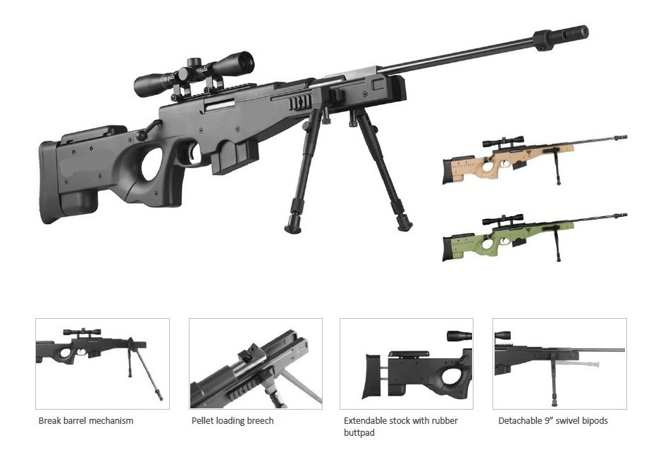 Rifle 1000 fps