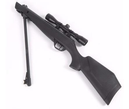 rifle nitropistón crosman shockwave + mira telescopica