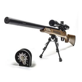 Rifle Pcp  Fox M30 6,35 Doble Manometro + Cargador
