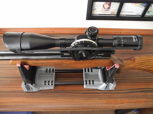 rifle pcp - bucaner bsa calibre 22 - con mira