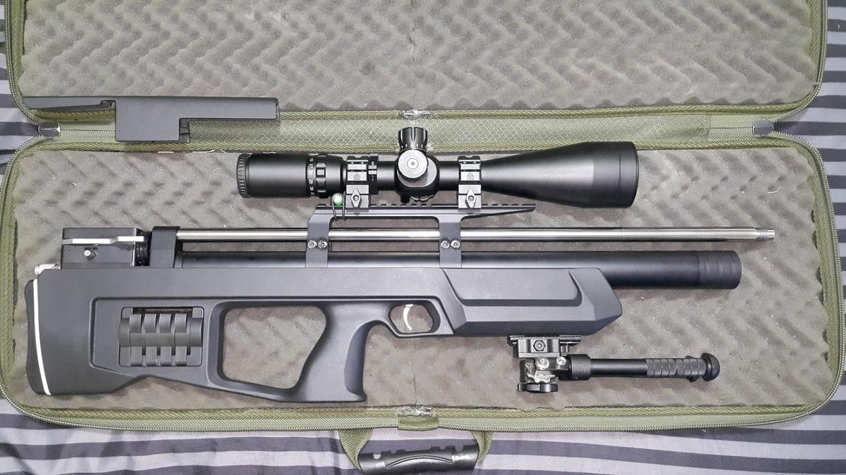 Rifle Pcp Kalibrgun Cricket  22 C/lothar Walther Y Acces - $ 125 000,00