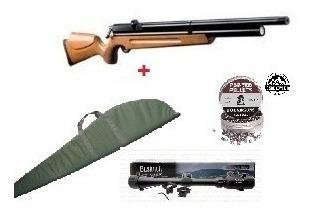 rifle pcp m-22 + mira + funda + poston / hiking outdoor