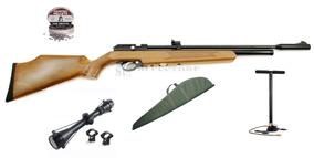 Rifle Pcp Pr900 + Bombin Gamo + Mira + Funda Hiking Outdoor