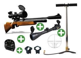 Rifle Pcp Pr900w 5,5+bombin Alta Presion+cargador Buguecl