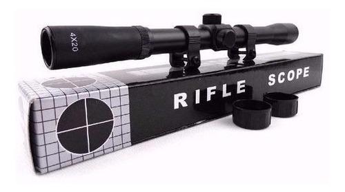 rifle postón 5,5 lb600 + mira + montura  + 200 postón