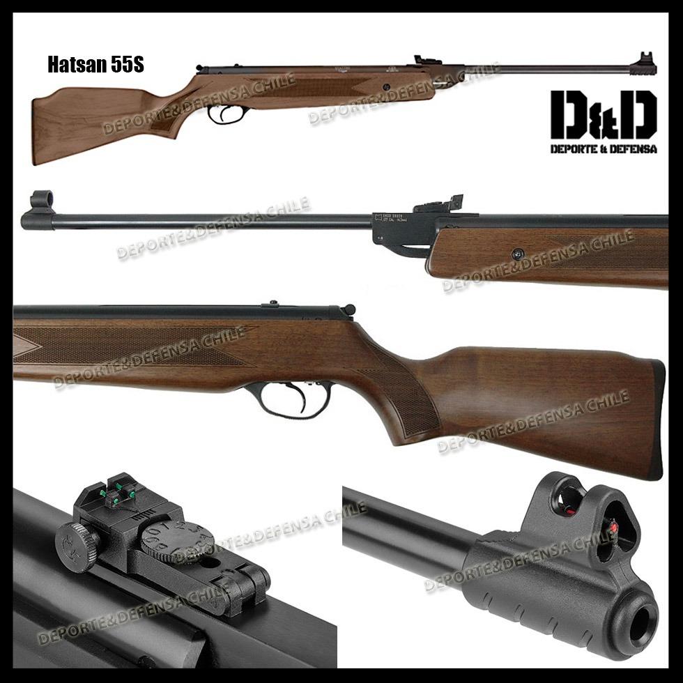Rifle Poston Hatsan 55s Tiro Caza Caceria Supervivencia 4,5 ...