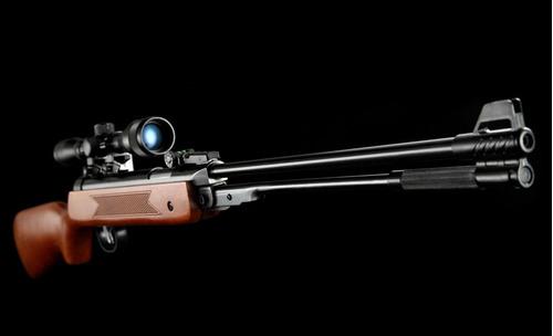 rifle poston wf600 (madera) + dianas + poston hiking outdoor