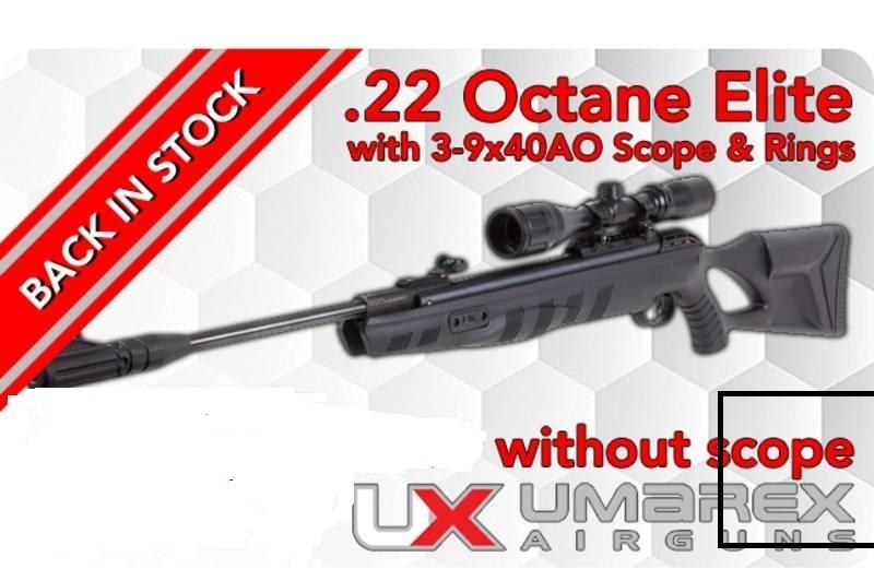 Rifle Umarex Octane Elite Nitro Piston+mira+ Poston+chaqueta
