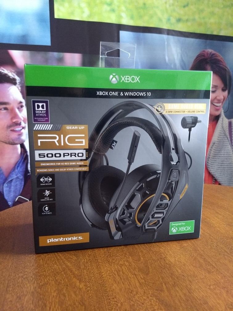 Rig 500 Pro Hx Headset Gamer Xboxone Plantronics Dolby Atmos