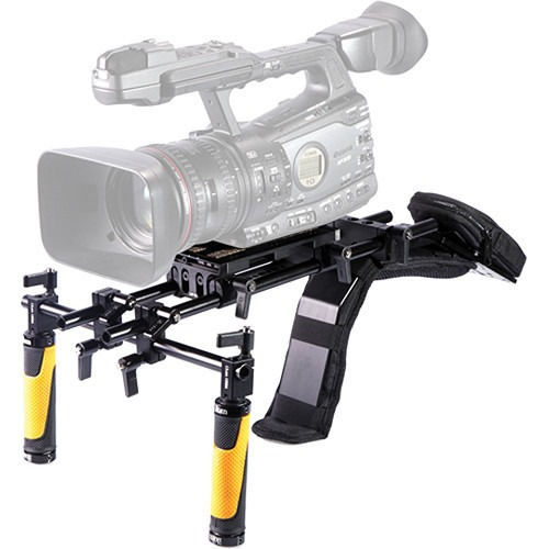 rig estabilizador hombro video pro ikan ele-flwcam hm4