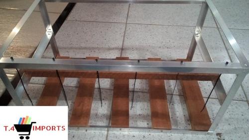 rig frame de mineração - ethereum zcash monero 60cm