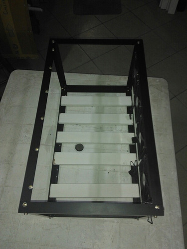 rig minerção frame bitcoin monero dash entherium com cooler