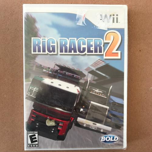 rig racer 2 para wii, envio incluido