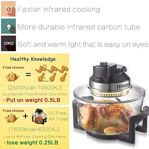 right oil free air fryer oven right infrared