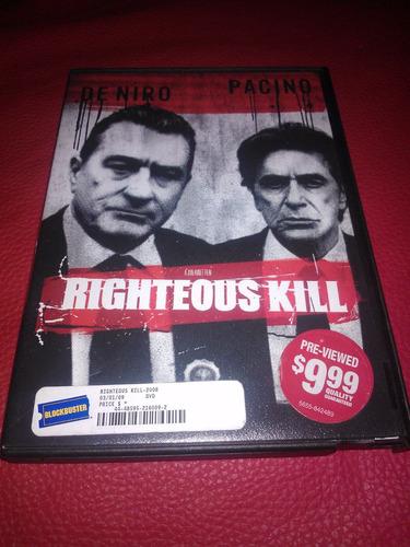 righteous kill / robert de niro / al pacino / curtis jackson
