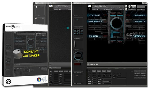 rigid audio kontakt gui maker 1.1.0 - faça seus samples!