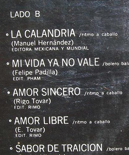 rigo tovar y su costa azul 7. disco l.p. sellado melody 1977