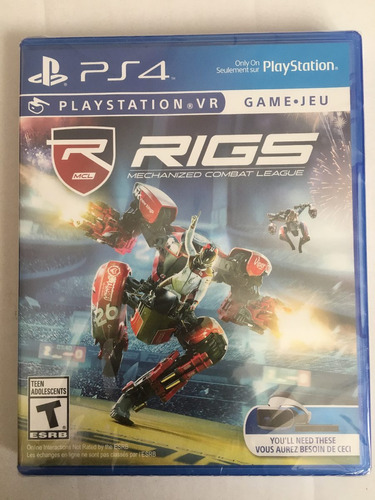 rigs playstation vr juego