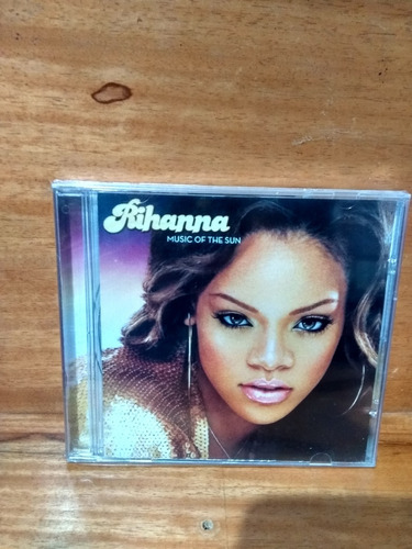 rihanna music of the sun [cd novo de fabrica lacrado]