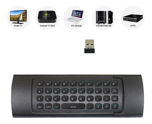 rii mx3 multifunción 2.4g fly mouse mini teclado inalámbrico