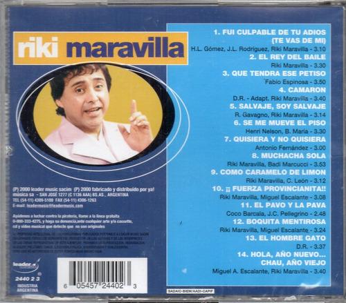 Riki Maravilla - Lo Mejor De Los Mejores - Los Chiquibum