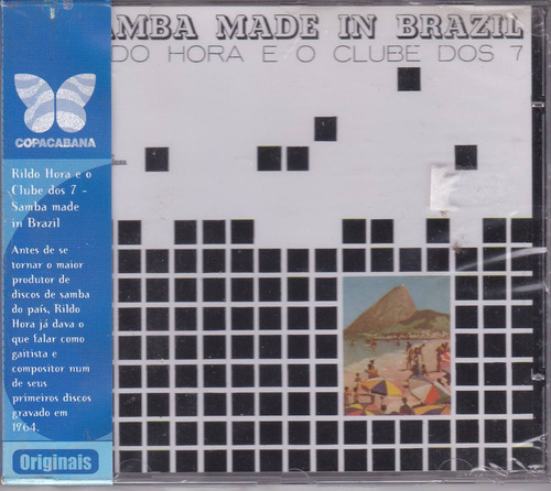 rildo hora e o clube dos 7 - cd samba made brazil - lacrado