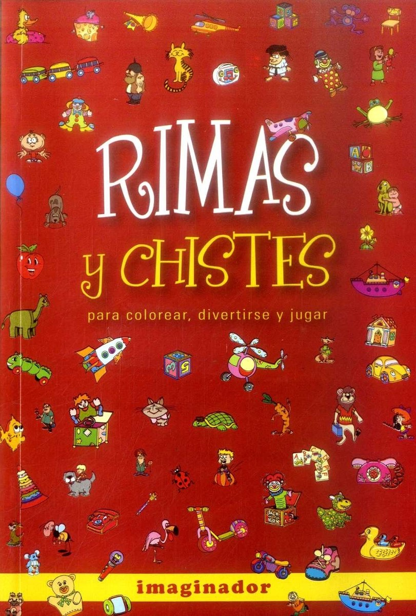 Rimas Y Chistes Para Colorear Divertirse Y Jugar - $ 71.348 en ...