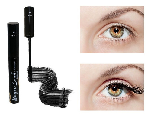 rimel con tratamiento magic lash platinum + regalo